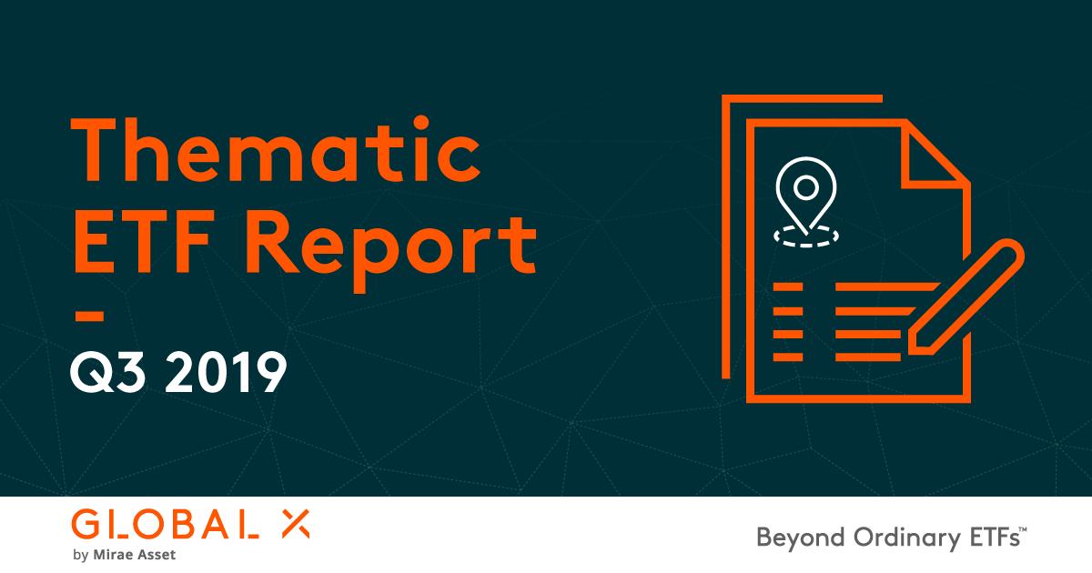 Thematic Etf Report Q3 2019 Global X Etfs