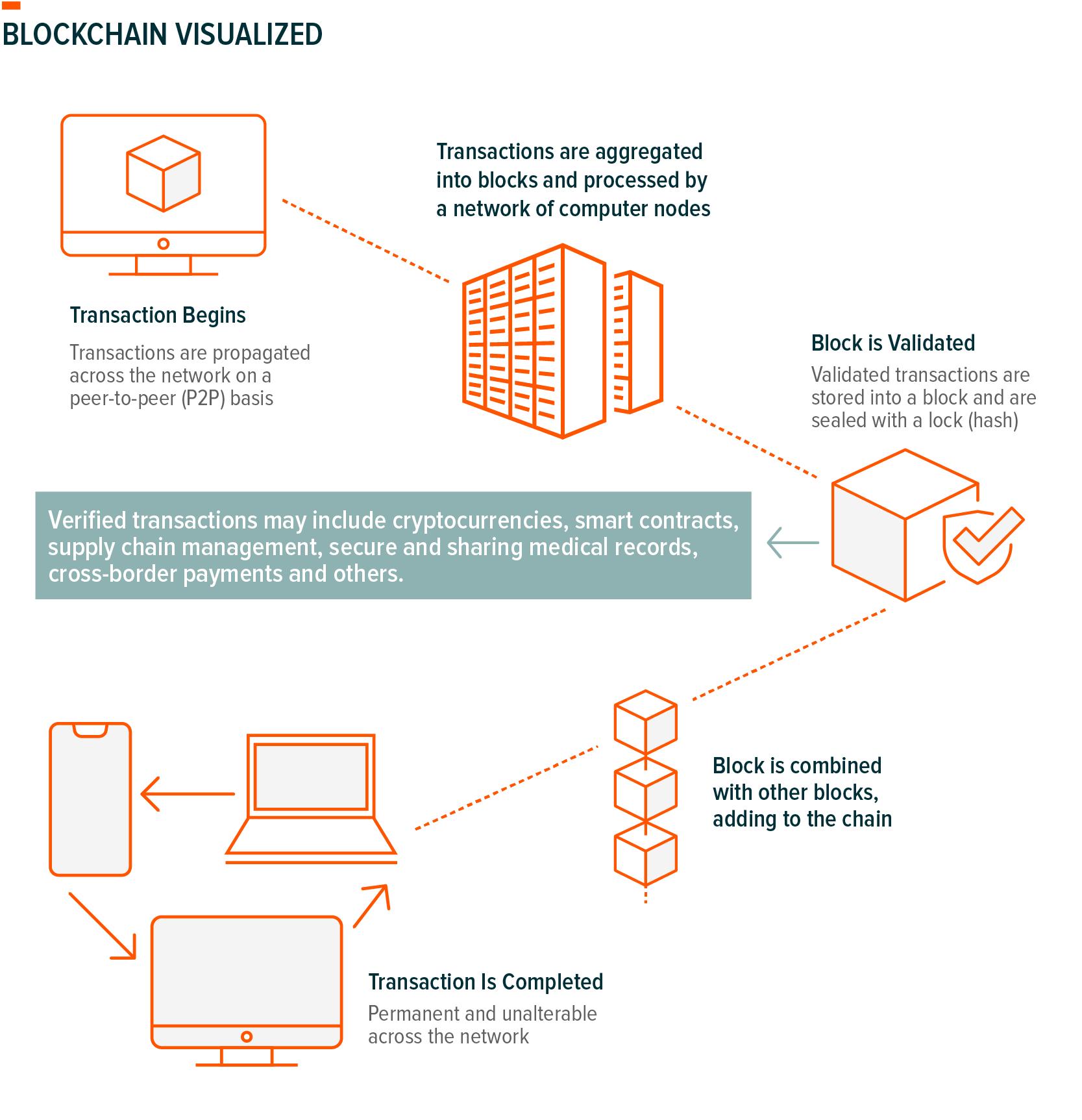 Blockchain Visualized, Explained